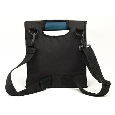 SL - Lunch bag, czarno-niebieski, Smart Cover