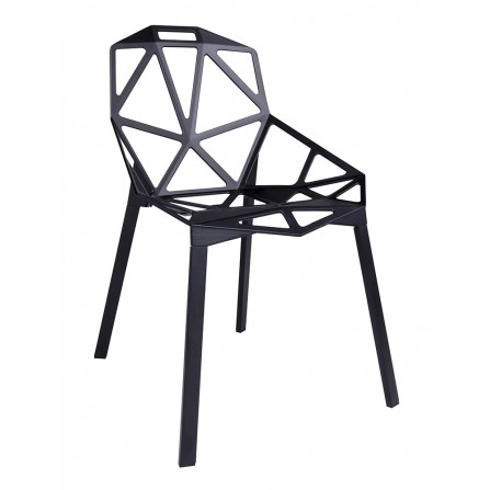 Krzesło Split premium czarne