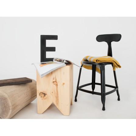 Krzesło Soho metalowe loftczarne