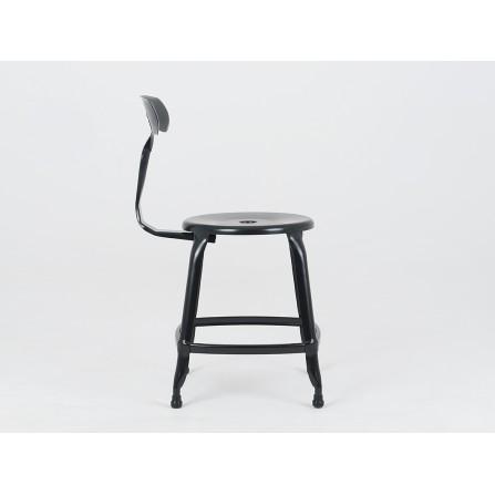 Krzesło Soho metalowe loft czarne