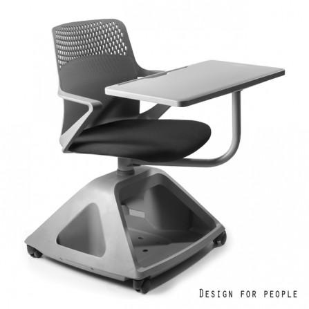 Fotel krzesło biurowe z stolikiem Rover 2 przód