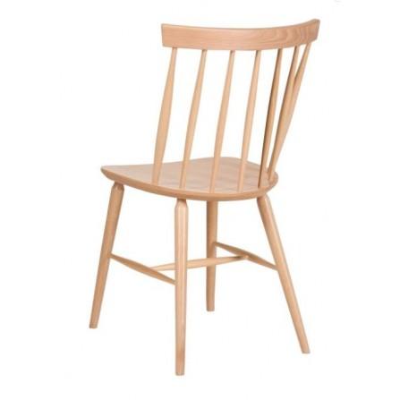 Krzesło drewniane A-9850 ANTILLA tył kolor buk