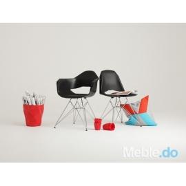 Krzesło Match Metal, czarny