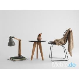 Krzesło Wir Chair, czarny