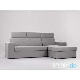 Sofa Atlantica P, stalowy
