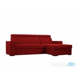 Sofa Atlantica P, truskawkowy